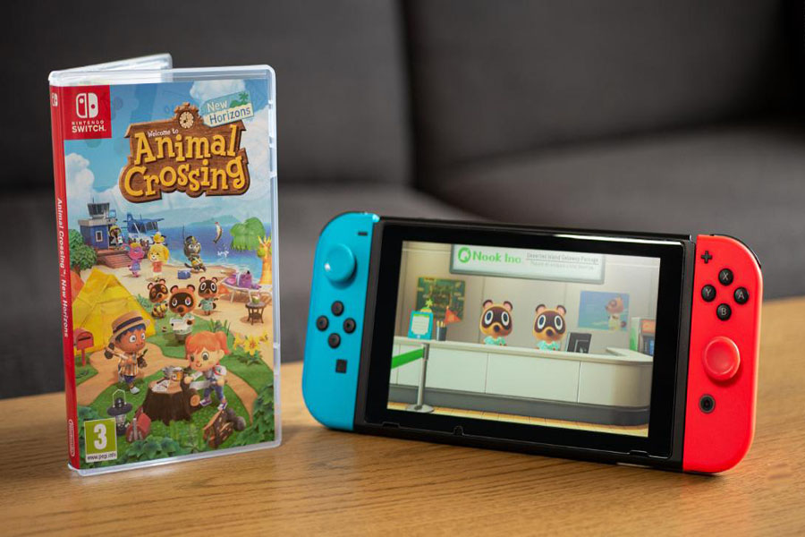 Nintendo Switch and Animal Crossing