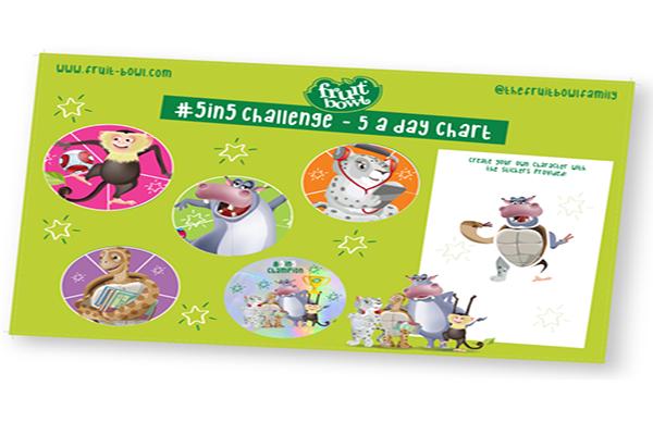 Free Children's Fruit Sticker Chart