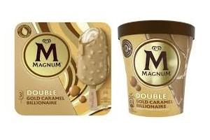 Magnum Double Gold Caramel Billionaire Ice Cream