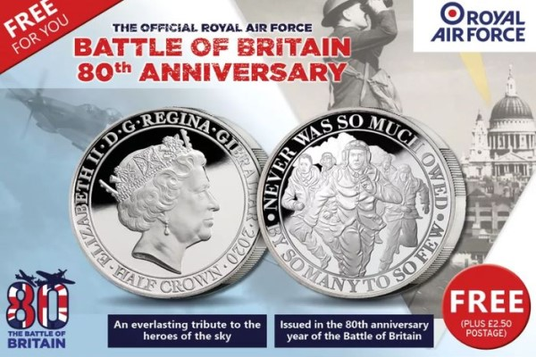 Free Battle of Britain Coins