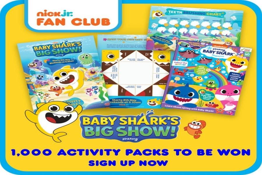 Nick Jr Baby Shark packs