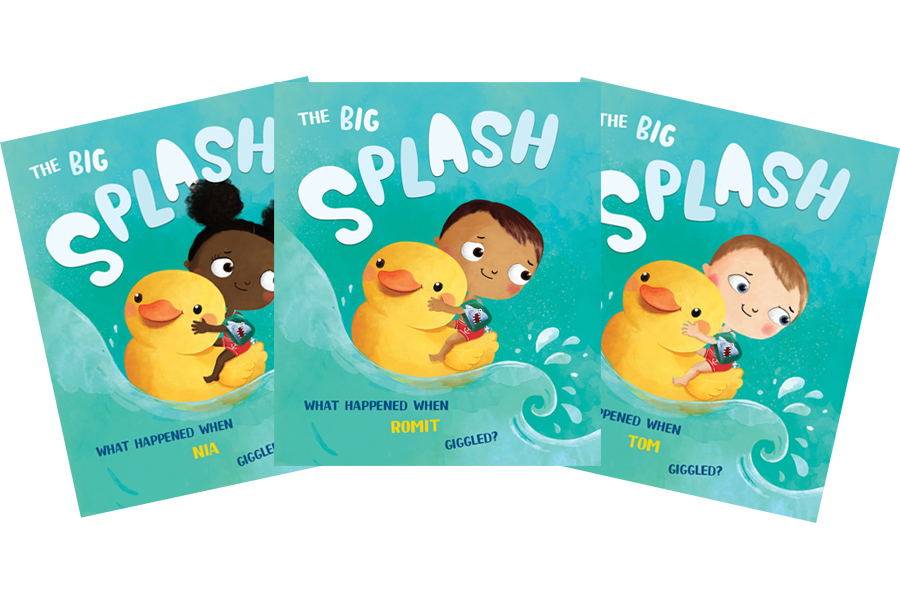 splash personalised book