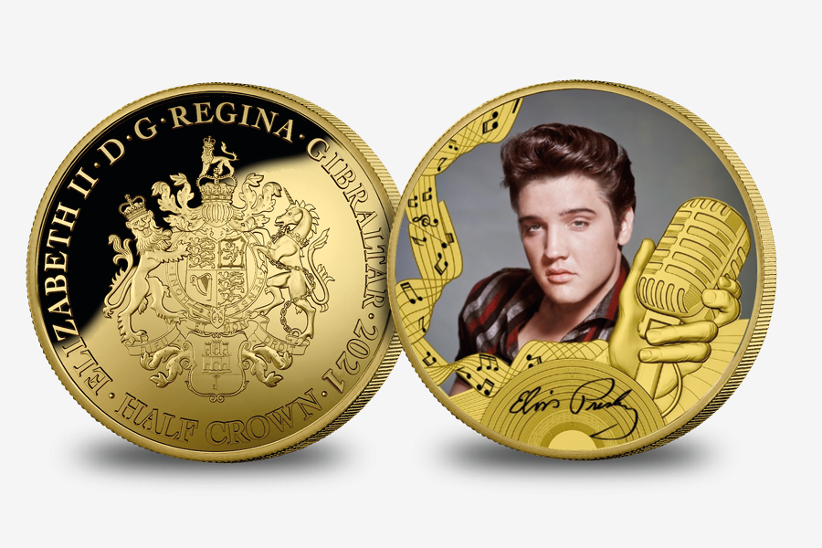 Elvis Presley King Of Rock and Roll Coin