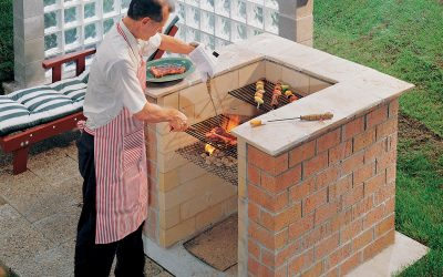 Make your own Barbecue in your garden for summer