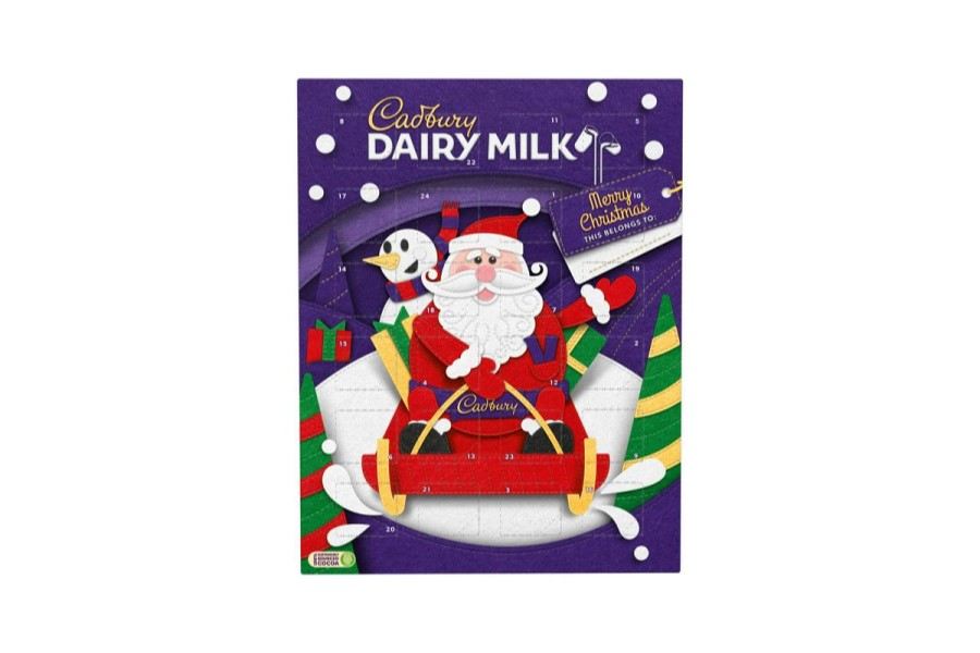 Dairy Milk Advent Calendar